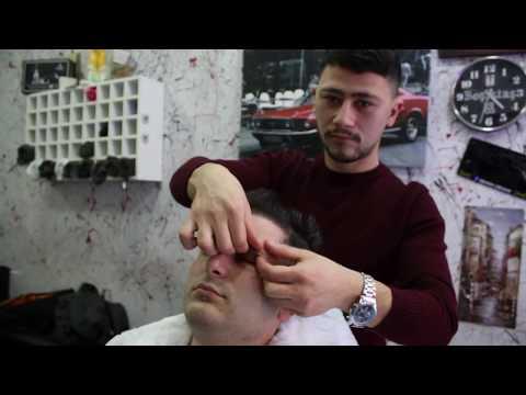 ASMR Turkish Barber Face Head and Body Massage 95