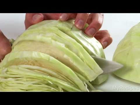 How To Slice Cabbage | MyRecipes