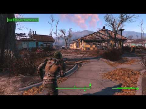 Fallout 4 - Sanctuary: Provide Water to Settlers (Create Water Pumps Tutorial) & Stugis Dialogue
