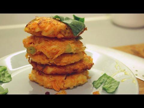 Halloumi & Carrot Fritters