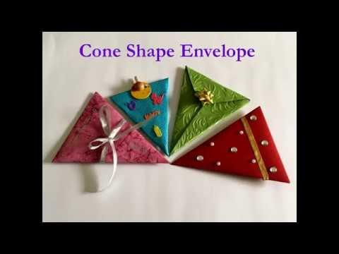 Cone shape Envelope  || Envelope Series ||