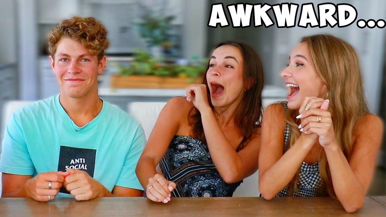 Asking Girls Awkward Questions! ft. Lexi Rivera, Lexi Hensler, Pierson!