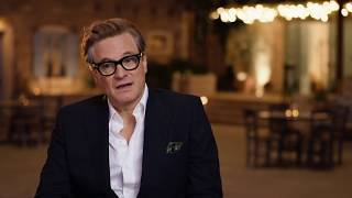 "MAMMA MIA! 2 Here We Go Again ""Harry"" Colin Firth On Set Interview"