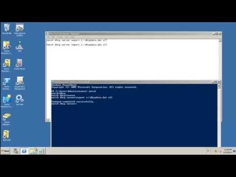 Migrating DHCP Server windows 2008 R2 To Windows 2012 And Windows 2012 R2