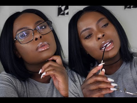 NO FOUNDATION | HOW TO SLAY YOUR FACE IN 10 MINS FOR WORK, COLLEGE/SCHOOL etc! |DARK SKIN