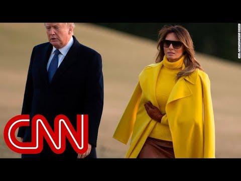 Trump jokes about Melania leaving him