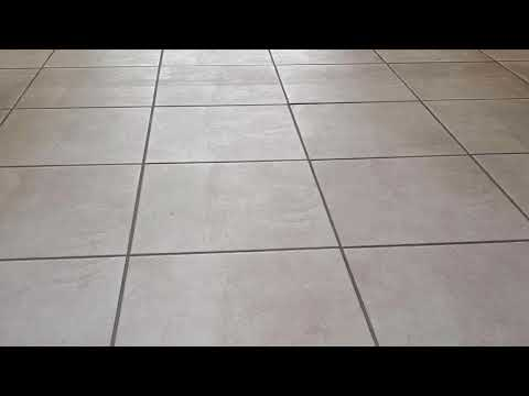 How to clean and seal ceramic indoor tiles