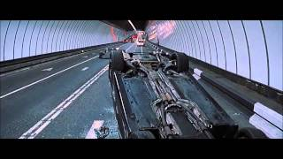 FAST & FURIOUS 6 [2013] Scene: Tunnel Chase/Shaw Escapes.
