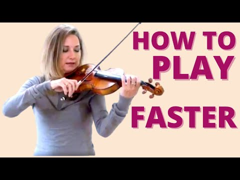 How to Develop Speed, Practice Sixteenth Notes and Break Down Fast Passages