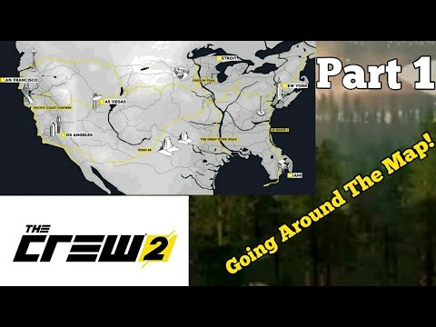 (The Crew 2 Beta) The Ultimate road Trip! Part 1