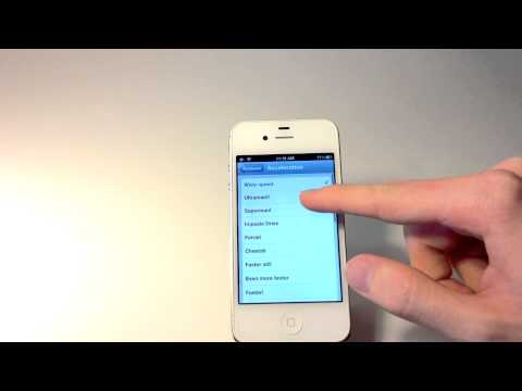 How To Make iPhone Faster: Accelerate Tweak For iPhone