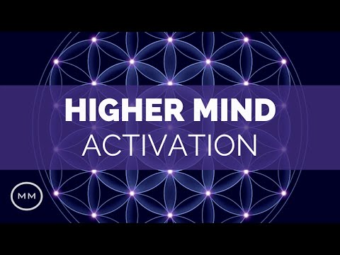 963 Hz - Activate Higher Mind - Brain Chakra Connection - Meditation Music - Isochronic Tones