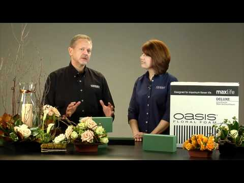More about OASIS® Floral Foam Maxlife!