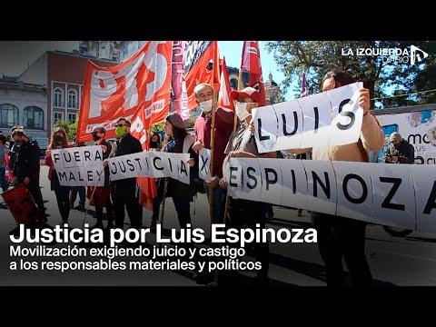 Tucumán: movilización por Luis Espinoza, exigiendo castigo a los responsables materiales y políticos