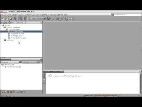 Running Java files in NetBeans