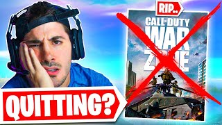 Why I might quit Warzone.. 🤔