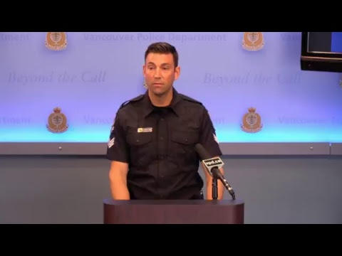 Vancouver Police Press Conference: Vancouver Police are investigating the third reported virtual ...