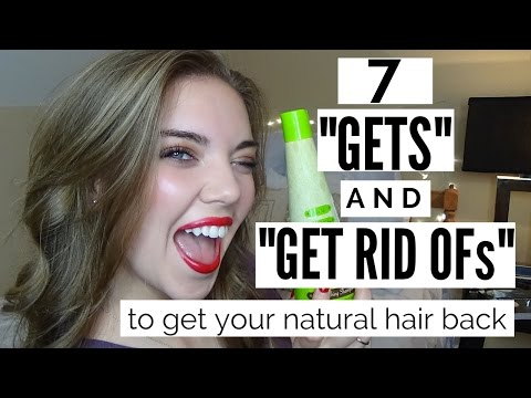 7 STEPS TO GET YOUR NATURAL HAIR COLOR BACK