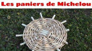 🇫🇷 Épisode 9.comment Faire Un Fond De Corbeille En Osier ?
