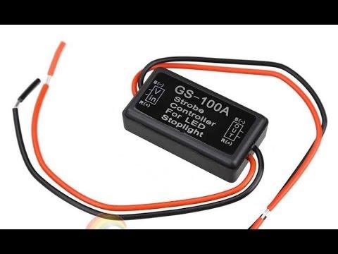 Flash Strobe Controller for LED Brake Stop