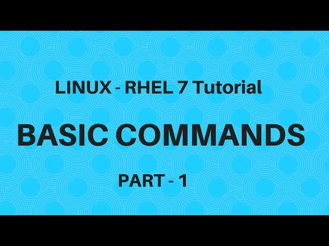 Linux in Hindi - RHEL 7 - Basic Commands - Part 1 - Seven Layer Technologies