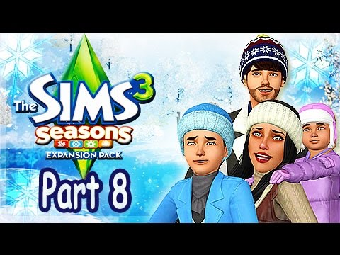 Let's Play: The Sims 3 Seasons - (Part 8) - Spooky Day and Feast Party