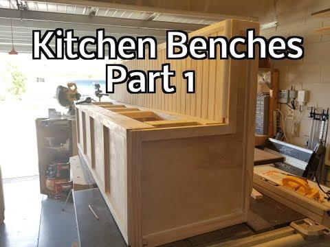 Kitchen Benches Part 1