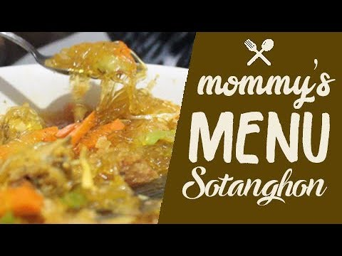 How to cook Sotanghon? A MUST TRY FOOD!