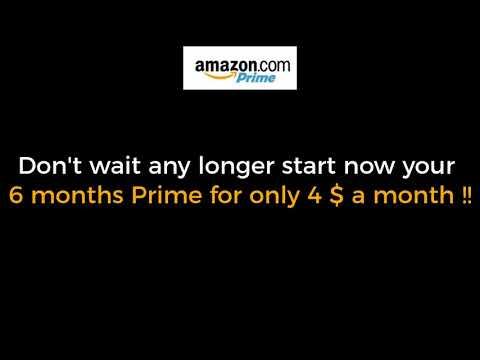 2018 Amazon prime student membership six months