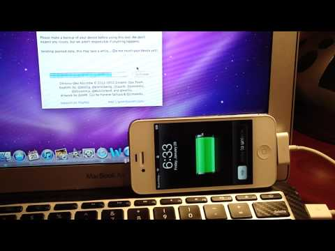 How To: Jailbreak 5.0.1 iPhone 4S/iPad 2 UNTETHERED with Absinthe (Windows and Mac)