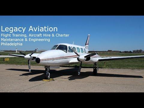 Legacy Aviation Flight Training, Aircraft Hire, Maintenance, Philadelphia