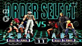 ✴KOF 2002 PS2 HACK✴ PARA TIGER ARCADE ,FBA4DROID Y KAWAKS ARCADE