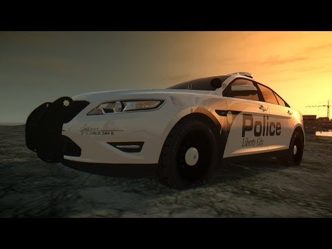 2011 Ford Taurus Police Interceptor [GTA IV Car Mod]