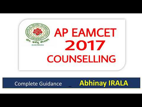 AP EAMCET Counselling  2017
