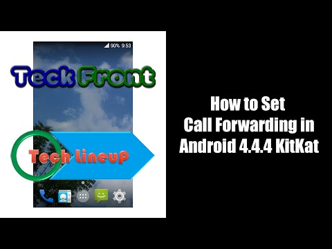 How to Set Call Forwarding in Android KitKat 4 4 Phone