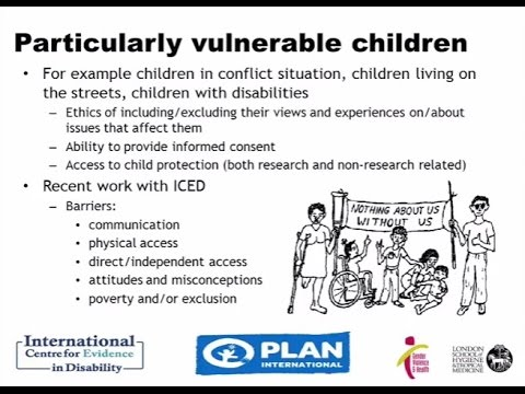 LINEA webinar 8: Conducting ethical research involving children