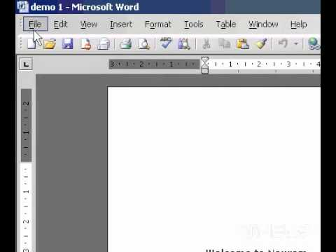 Microsoft Office Word 2003 Scale a document to fit on different paper sizes