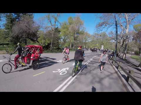 NYC - Bicycle ride in Central Park