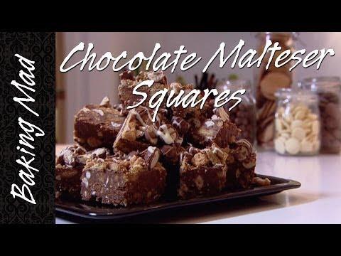 Baking Mad Monday: Chocolate Malteser Squares