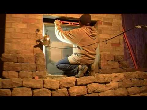 Bricks & Stone Fireplace , damper , smoke chamber (part 4)
