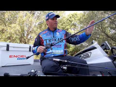 Bass Fishing: How to Select the Right Fishing Rod when Fishing a Plastic Worm with Scott Martin
