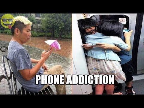Cell Phone Addiction is Real