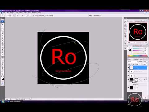 how to make a logo on adobe photoshop cs3