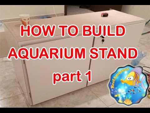 HOW TO: DIY Build an Aquarium Stand part 1/2 (120g Reef Tank Setup E4)
