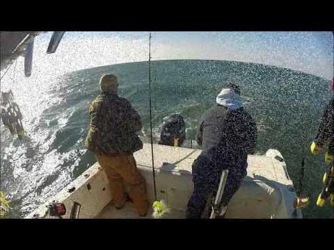 Rockfishing in Ocean City, MD late season