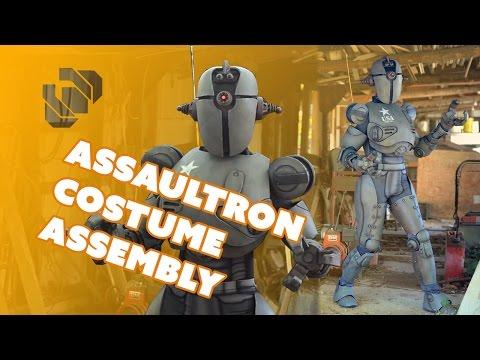 Fallout 4 Assaultron Costume Assembly - Prop: Shop
