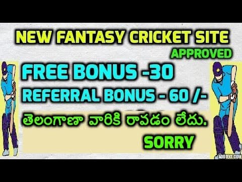 FanFight - New Fantasy Cricket Site  - Not For Telangana People -  in Telugu - Earn Real Money 2017