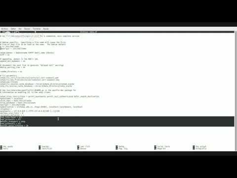 Creación de un servidor smtp ubuntu 13.10