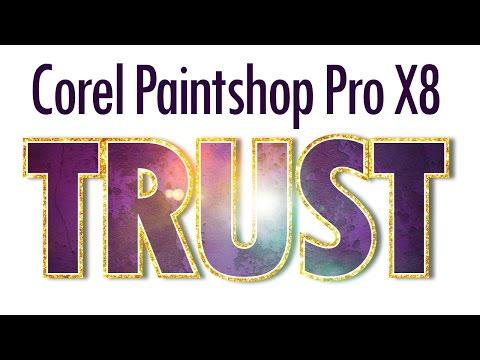 Creative Text Effects in Corel Paintshop Pro