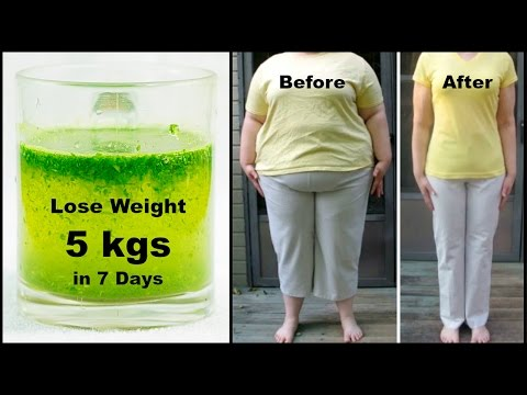 Miracle Fat Cutter Drink to Lose Weight 5 Kgs in 1 Week || 100% Works